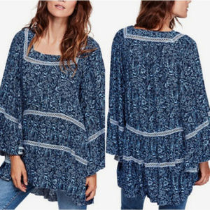NWT Free People Talk About It Tunic top
